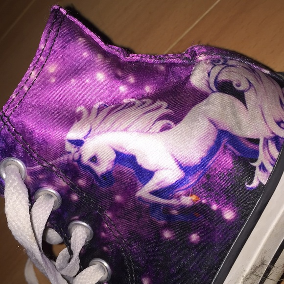 newest 2026f d9548 Converse Shoes - Purple high top unicorn converse